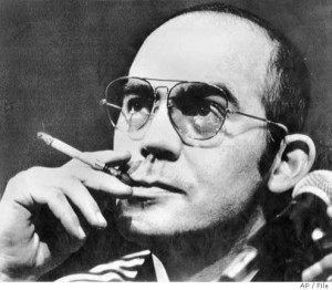 hunter s thompson – when the going gets weird, the weird turn pro.
